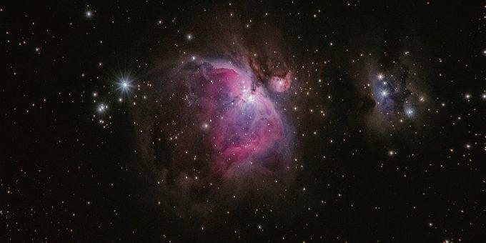 Deep space cosmos Stock Photo